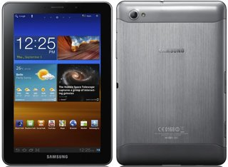 Samsung Galaxy Tab 7.7 sports AMOLED screen and metal case