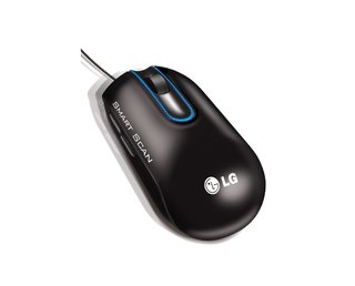 The LG Scanner Mouse lets you scan from your desk