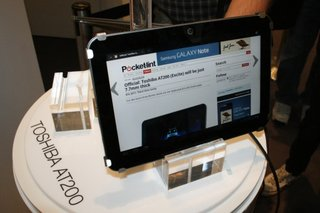 Toshiba AT200 pictures and hands-on