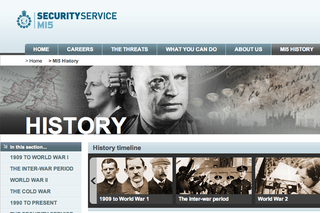 WEBSITE OF THE DAY – History of MI5