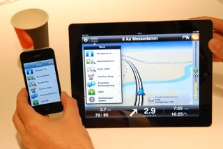 TomTom iPad app pictures and hands-on