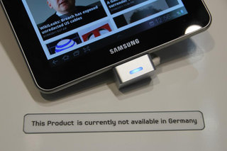 Samsung Galaxy Tab 7.7 pulled from IFA following new injunction