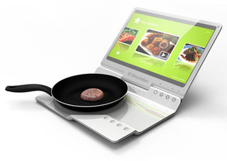 Could the Electrolux Laptop Kitchen be the future of cooking on the go?