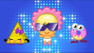 Moshi Monsters Music tunes in