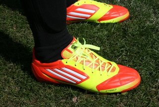 Adidas Adizero f50 powered by miCoach: The boot with a brain