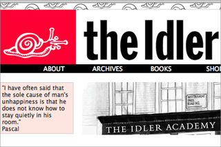 WEBSITE OF THE DAY - The Idler