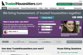 WEBSITE OF THE DAY: Trusted Housesitters