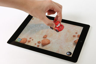 iPad becomes virtual play mat with Cars 2 Disney Appmates