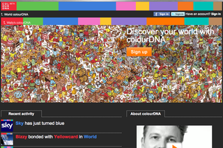 WEBSITE OF THE DAY: ColourDNA