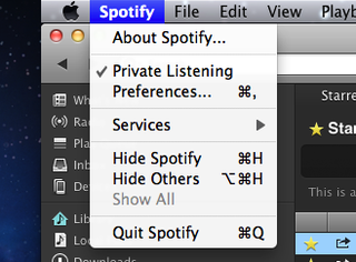 Spotify private listening saves your Facebook blushes