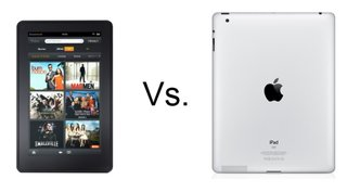 Amazon Kindle Fire vs iPad 2