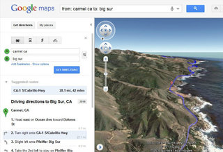 Google Maps adds helicopter view