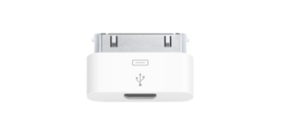 Apple iPhone Micro USB Adapter for when you need a friend's charger