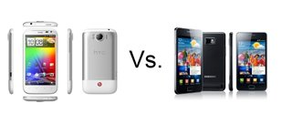 HTC Sensation XL vs Samsung Galaxy S II