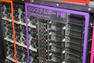 Fujitsu K: World's fastest supercomputer eyes-on