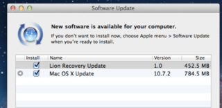 Mac OS X 10.7.2 brings iCloud to your computer