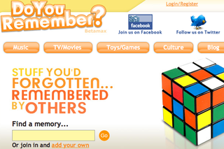WEBSITE OF THE DAY: Do You Remember?