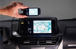 Toyota Touch Life takes your iPhone for a ride