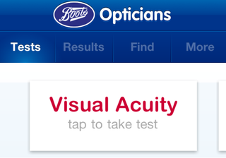APP OF THE DAY: Eye Check by Boots Opticians review (iPhone)