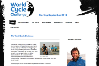 WEBSITE OF THE DAY: World Cycle Challenge