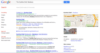 Google search reveals real-world at-a-glance info pages