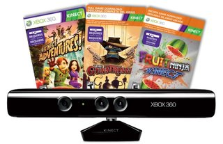Xbox 360 Kinect three-game Christmas bundle goes live