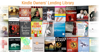Kindle Owners' Lending Library goes live in the US
