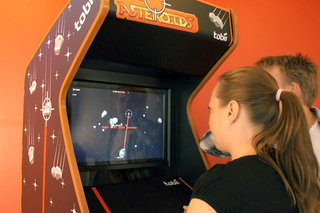 Tobii EyeAsteroids: The future of gaming is eye control