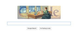 Google Doodle celebrates the birth of Marie Curie