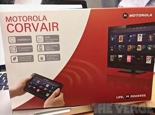 Motorola Corvair leaked - television based Android tablet