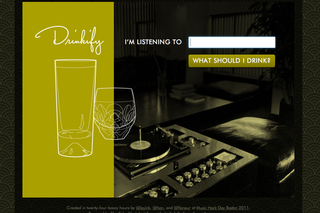WEBSITE OF THE DAY: Drinkify