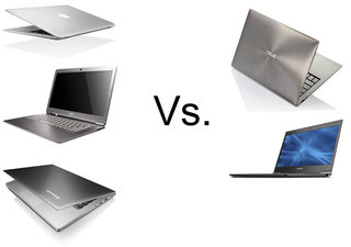 Ultrabook face off: Toshiba Portégé Z830 vs Acer Aspire S3 3951 vs Asus Zenbook UX31 vs Lenovo IdeaPad U300s vs Macbook Air