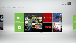 New Xbox 360 Dashboard landing 6 December