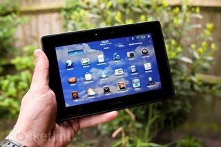 BlackBerry PlayBook OTA update Flashes in