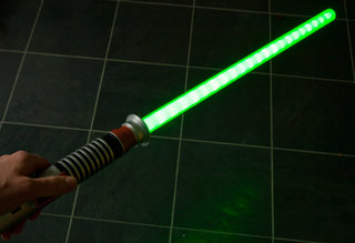 Ultimate FX Lightsaber pictures and hands-on
