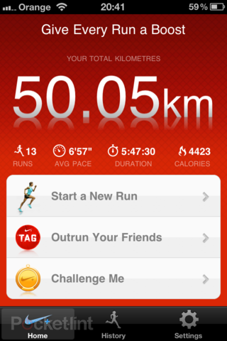 app of the day nike gps review iphone  image 2