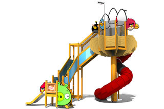 Angry Birds - coming to a children's playground near you