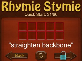 APP OF THE DAY: RhymieStymie review (iPhone)