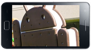 Samsung Galaxy S II Ice Cream Sandwich Android update Q1 2012