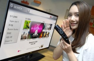 LG beats Apple to voice controlled TV