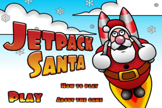 APP OF THE DAY: Jet Pack Santa review (iPhone)