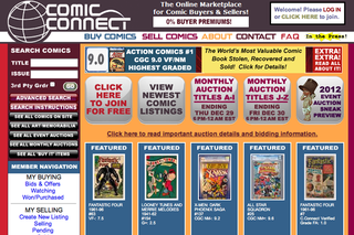 WEBSITE OF THE DAY: Comic Connect
