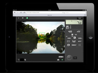 Nikon D4 offers HTTP mode, optimised for iPhone control