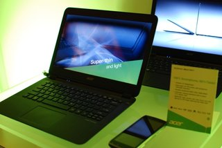 Acer Aspire S5 Ultrabook pictures and hands-on