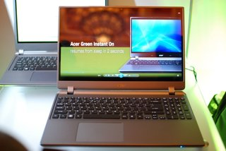 Acer Timeline Ultra pictures and hands-on