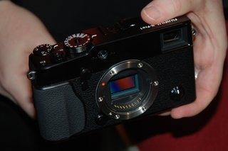 Fujifilm X-Pro1 pictures and hands-on