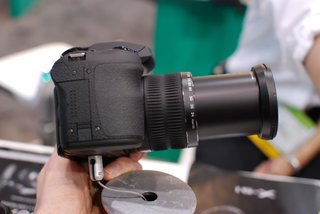 Fujifilm FinePix HS30EXR pictures and hands-on