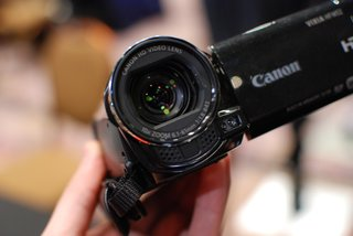 Canon Legria HFM52 camcorder pictures and hands-on