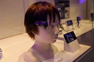 Panasonic headcam prototype gives you third eye