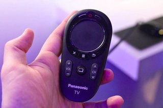 Panasonic Viera Touch Pad Controller pictures and hands-on